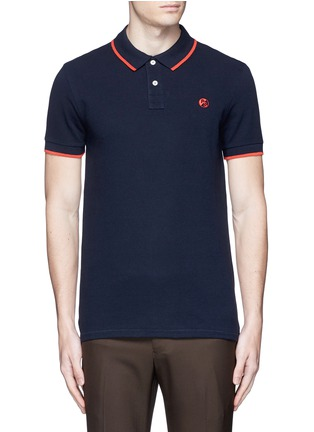 Main View - Click To Enlarge - PS Paul Smith - Slim fit polo shirt