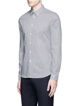 Front View - Click To Enlarge - PS Paul Smith - 'Mini Heart' print cotton poplin shirt
