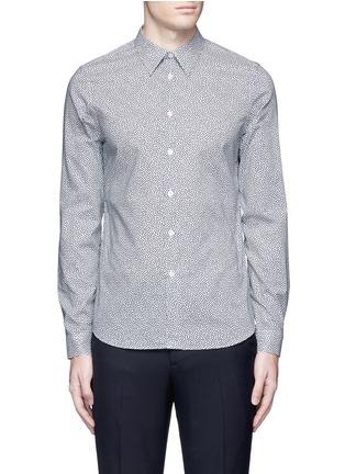 Main View - Click To Enlarge - PS Paul Smith - 'Mini Heart' print cotton poplin shirt