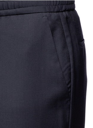 Detail View - Click To Enlarge - PS Paul Smith - Slim fit tailored wool sweatpants