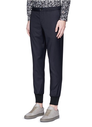 Front View - Click To Enlarge - PS Paul Smith - Slim fit tailored wool sweatpants