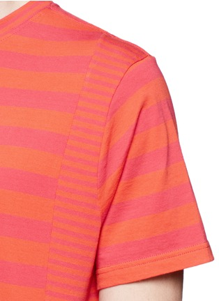 Detail View - Click To Enlarge - PS Paul Smith - Stripe cotton T-shirt