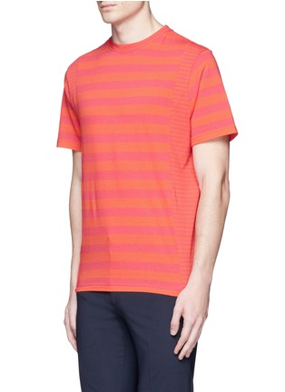 Front View - Click To Enlarge - PS Paul Smith - Stripe cotton T-shirt