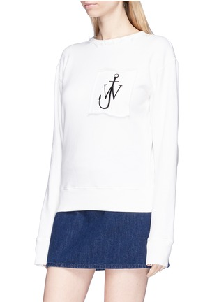 Front View - Click To Enlarge - JW Anderson - Logo embroidered sweatshirt
