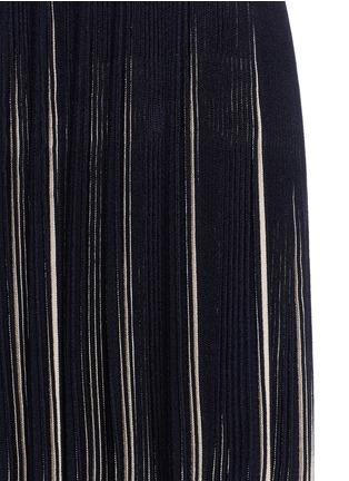 Detail View - Click To Enlarge - Alaïa - 'Seguidille' plissé pleat knit dress