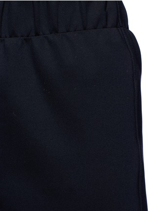 Detail View - Click To Enlarge - THE ROW - 'Leanne' elastic waist scuba jersey cropped pants