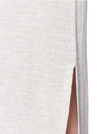 Detail View - Click To Enlarge - Theory - 'Dantine' wrap waist marled knit dress