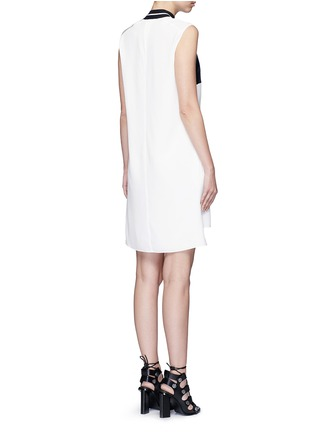 Back View - Click To Enlarge - rag & bone - 'Nico' satin sport stripe silk dress