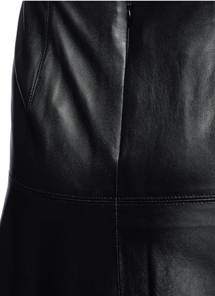 Detail View - Click To Enlarge - Vince - Leather skirt