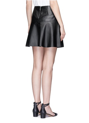 Back View - Click To Enlarge - Vince - Leather skirt