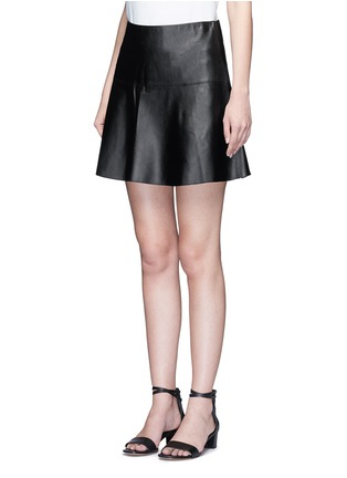 Front View - Click To Enlarge - Vince - Leather skirt