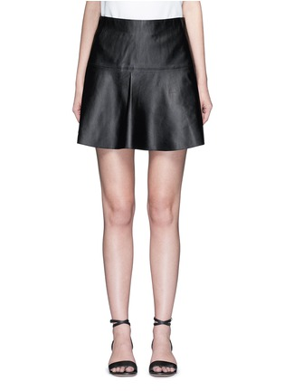 Main View - Click To Enlarge - Vince - Leather skirt