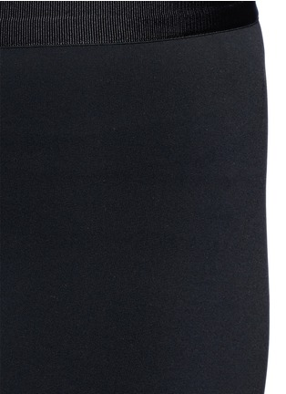 Detail View - Click To Enlarge - HELMUT LANG - 'Scuba' leggings