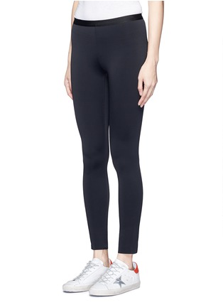 Front View - Click To Enlarge - HELMUT LANG - 'Scuba' leggings