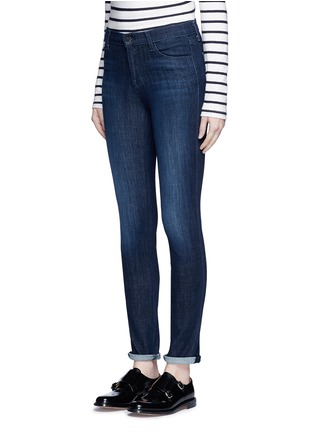 Front View - Click To Enlarge - J BRAND - 'Skinny' mid rise cropped jeans