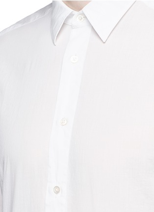 Detail View - Click To Enlarge - Boglioli - Italian collar cotton shirt