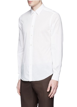 Front View - Click To Enlarge - Boglioli - Italian collar cotton shirt