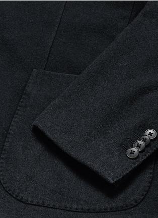 - BOGLIOLI - 'K-Jacket' wool flannel soft blazer