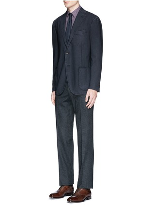 Figure View - Click To Enlarge - Boglioli - 'K-Jacket' wool hopsack soft blazer