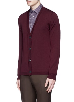 Front View - Click To Enlarge - Boglioli - Wool cardigan