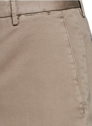 Detail View - Click To Enlarge - Boglioli - Slim fit stretch cotton chinos