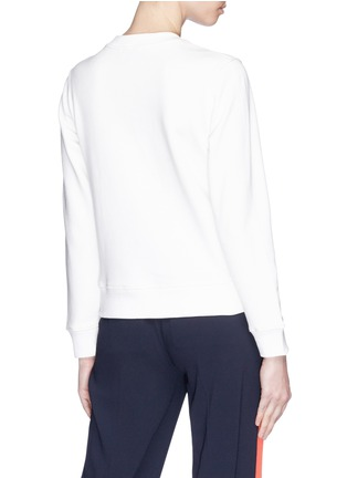 Back View - Click To Enlarge - Alex Foster x Lane Crawford - Frenchie embroidered sweatshirt