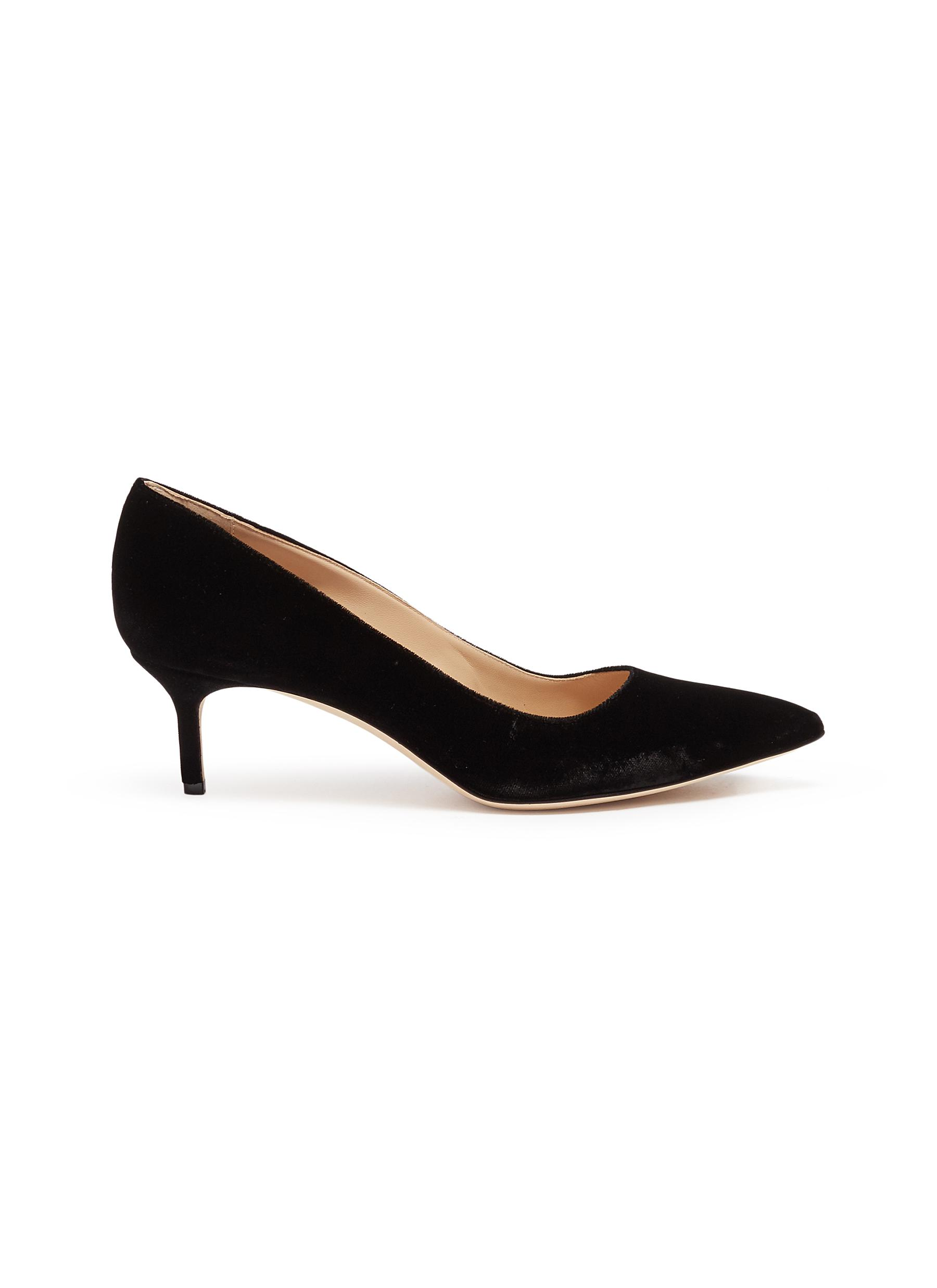 BB 50 velvet pumps by Manolo Blahnik