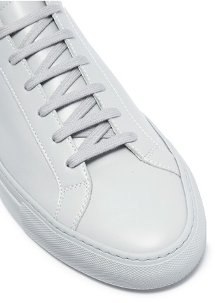 Detail View - Click To Enlarge - Common Projects - 'Original Achilles' leather sneakers