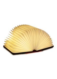 Lumio Mini Lumio+ folding book lamp – Black/Orange