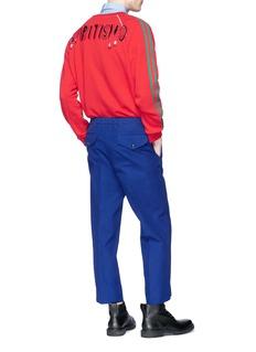 Gucci 'Spiritismo' appliqué Web stripe sweatshirt