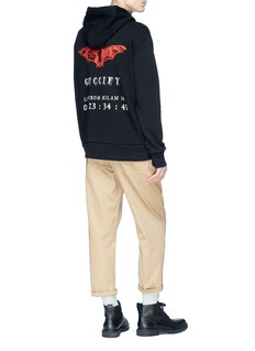Gucci 'Guccify' invite bat print zip hoodie