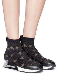Ash 'Lulla Star' intarsia knit sock sneakers