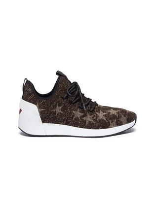 Main View - Click To Enlarge - Ash - 'Jaguar' star jacquard knit sneakers