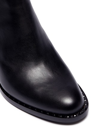 Detail View - Click To Enlarge - Ash - 'Vertigo' stud counter Chelsea boots