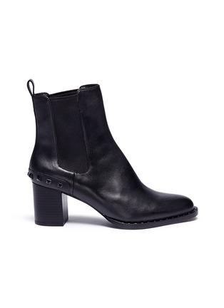 Main View - Click To Enlarge - Ash - 'Vertigo' stud counter Chelsea boots