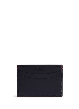 Figure View - Click To Enlarge - Paul Smith - 'Mini Graphic Edge' print leather cardholder