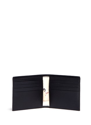 Figure View - Click To Enlarge - Paul Smith - 'Classic Naked Lady' print leather bifold wallet