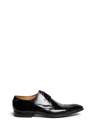 Main View - Click To Enlarge - PAUL SMITH - 'Robin' spazzolato leather Derbies