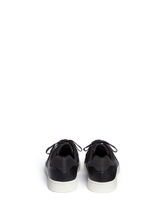 Back View - Click To Enlarge - Paul Smith - 'Lawn' side stripe leather sneakers