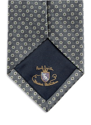 Detail View - Click To Enlarge - Paul Smith - Medallion embroidery silk tie