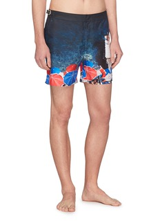 Orlebar Brown 'Bulldog Brolly Folly' seaside print swim shorts