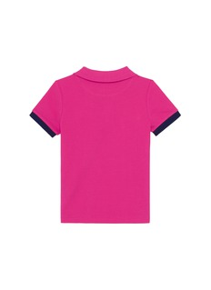 Vilebrequin 'Pantin' contrast cuff kids polo shirt
