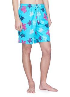 Vilebrequin 'Okoa' turtle print swim shorts