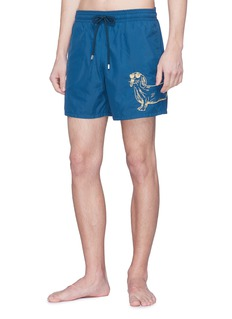 Vilebrequin 'Motu' sunny dog embroidered swim shorts