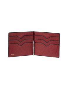 Valextra Simple Grip Spring leather wallet – Bordeaux