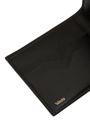 Detail View - Click To Enlarge - VALEXTRA - Leather bifold wallet