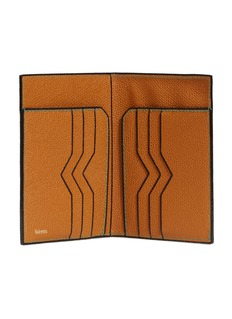 Valextra Leather document holder – Havana