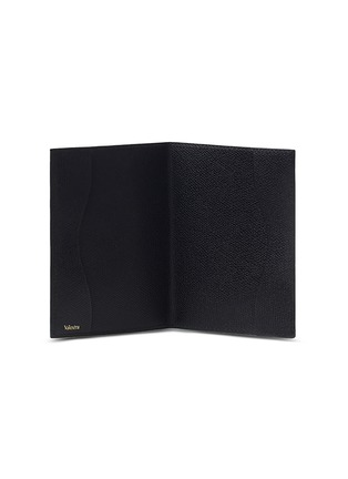 - VALEXTRA - Leather passport holder – Black