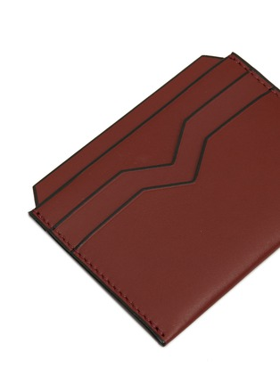 Detail View - Click To Enlarge - VALEXTRA - Leather card holder