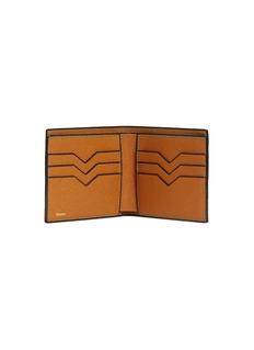 Valextra Leather bifold wallet – Havana